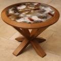 Table des Fagnes -table de salon circulaire