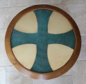 """Plateau dinanderie """"Croix de Malte"""""""