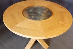Grande table circulaire